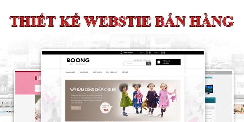 thiet ke web online nhanh