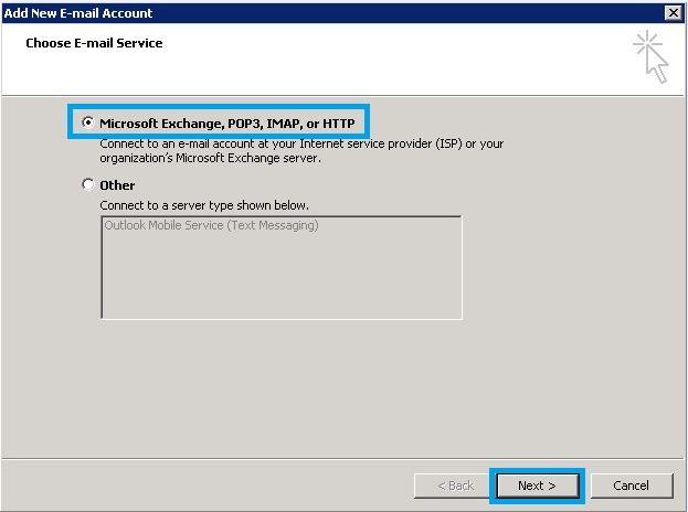 Hướng dẫn cài đặt email tên miền trên Outlook