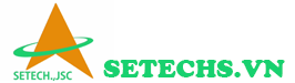 Thiết kế web công ty Setechs