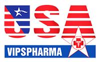 Thiết kế web dược phẩm Usa Vip Pharma